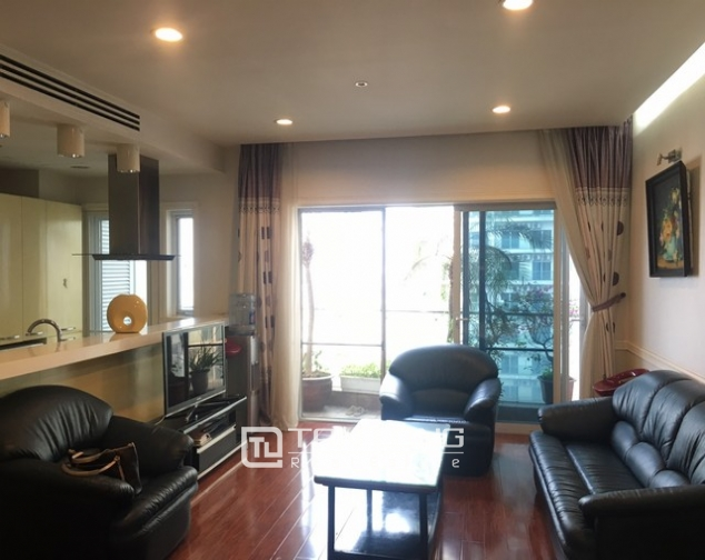 Lakeview apartment for lease in Thuy Khe str., Tay Ho dist., Hanoi 1