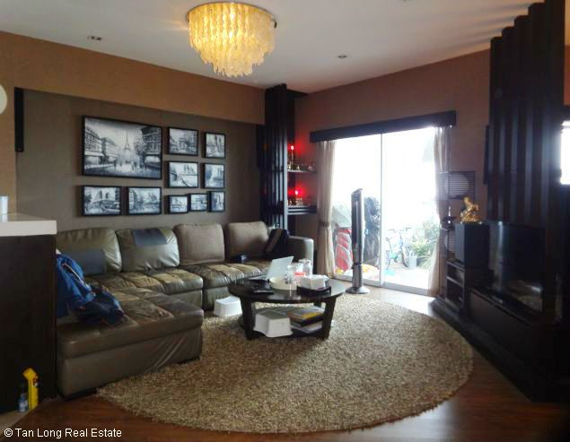 Lakeview full furnished 2 bedrooms apartment in E tower Golden Westlake Ha Noi 1