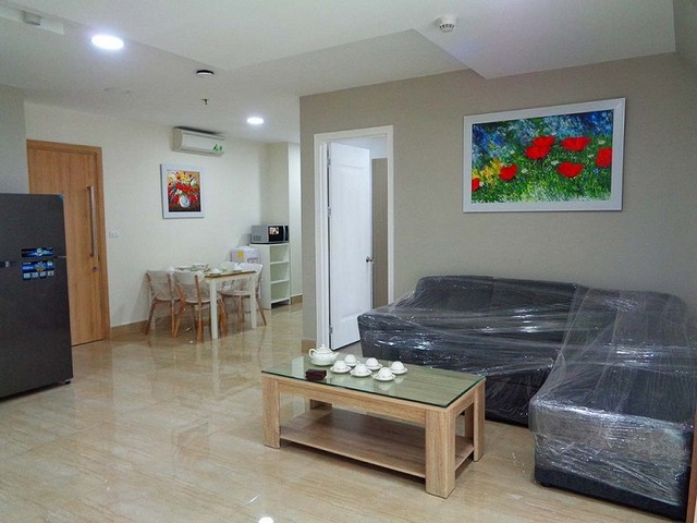 Lakeview luxurious two bedroom apartment in Golden Westlake Hanoi for rent.