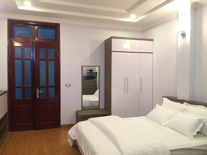 Leasing studio serviced apartment in Nguyen Thi Dinh, Cau Giay, Hanoi
