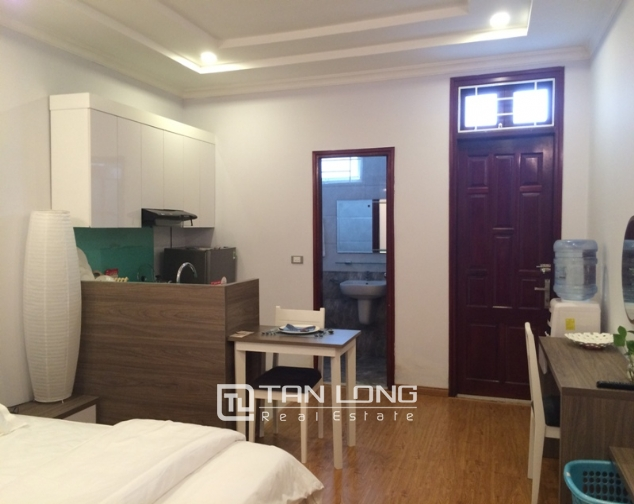 Leasing studio serviced apartment in Nguyen Thi Dinh, Cau Giay, Hanoi 2