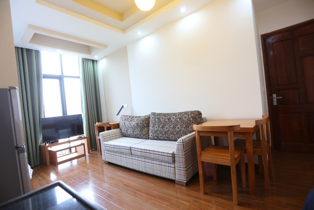 Leasing  stylish studio serviced apartment in Duy Tan, Cau Giay