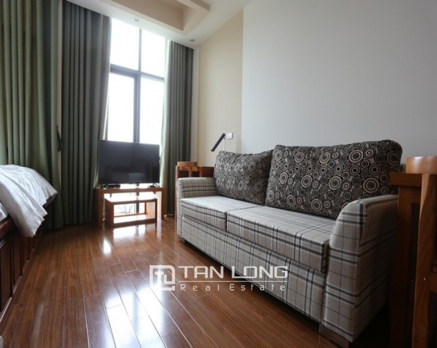 Leasing  stylish studio serviced apartment in Duy Tan, Cau Giay 2