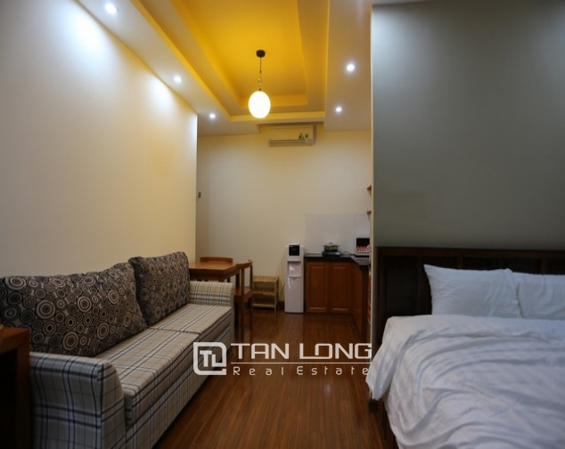 Leasing  stylish studio serviced apartment in Duy Tan, Cau Giay 4