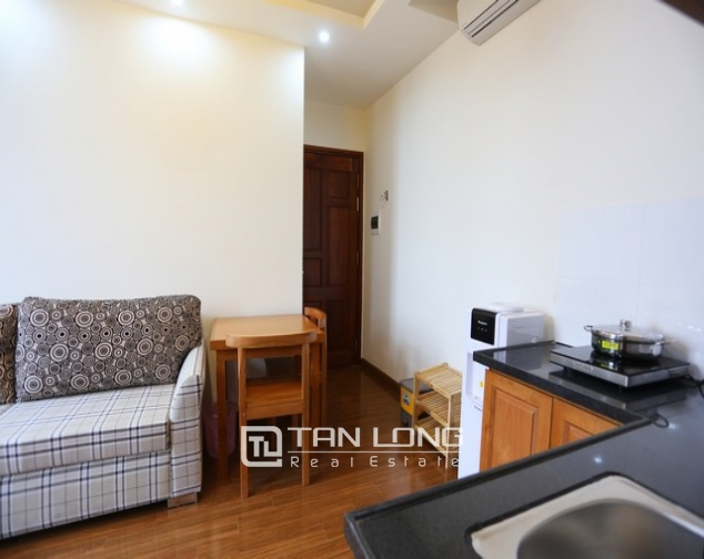 Leasing  stylish studio serviced apartment in Duy Tan, Cau Giay 5