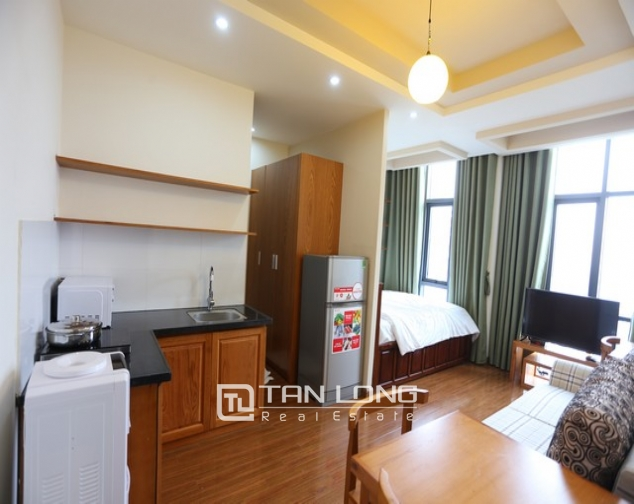 Leasing  stylish studio serviced apartment in Duy Tan, Cau Giay 7