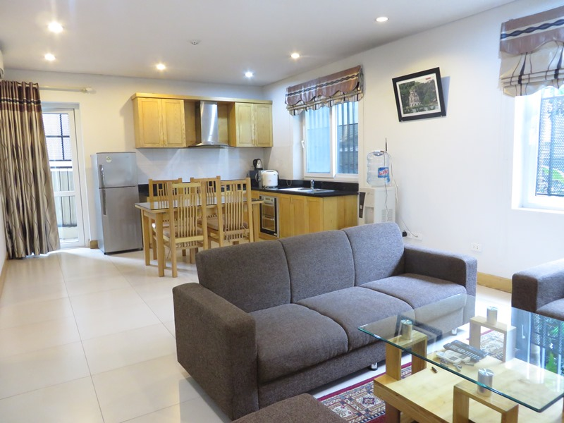 Lovely 1 bedroom serviced apartment for rent in Quan Hoa, Cau Giay district