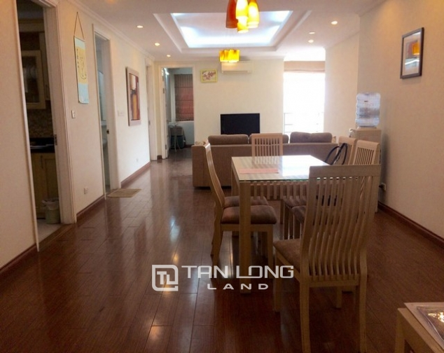 Lovely and reasonable 3 bedroom apartment for rent in E5 tower Ciputra urban area 2
