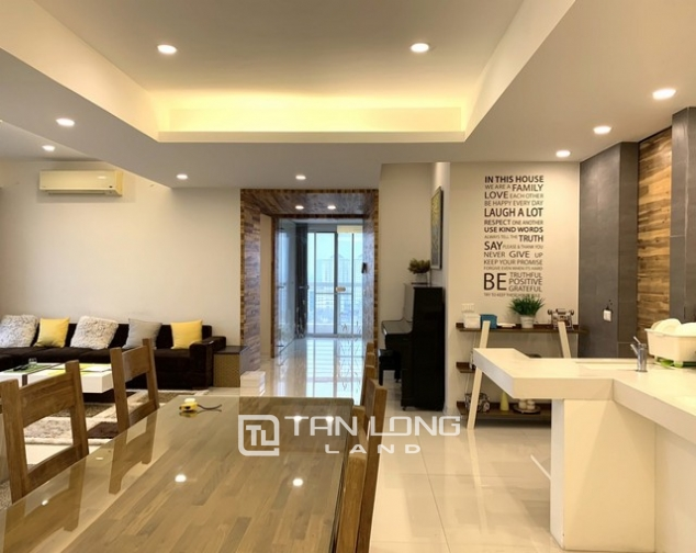 Lovely renovated 3 bedroom apartment for rent in E tower Ciputra 4