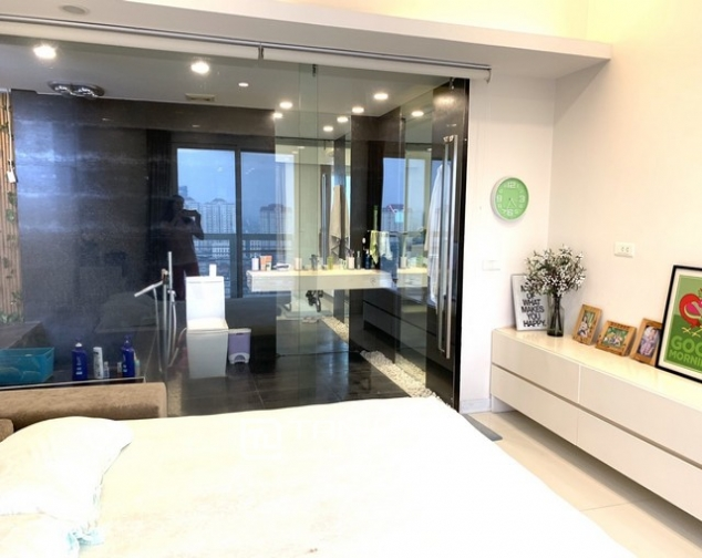 Lovely renovated 3 bedroom apartment for rent in E tower Ciputra 6