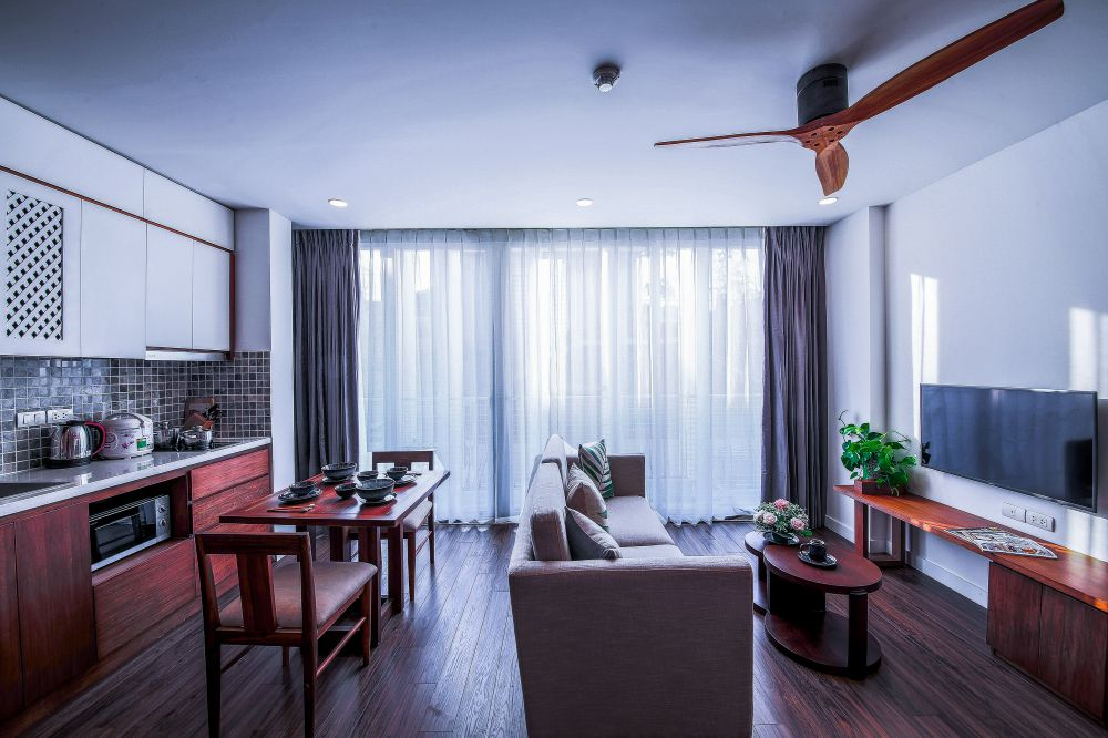 Serviced apartments Ba Dinh