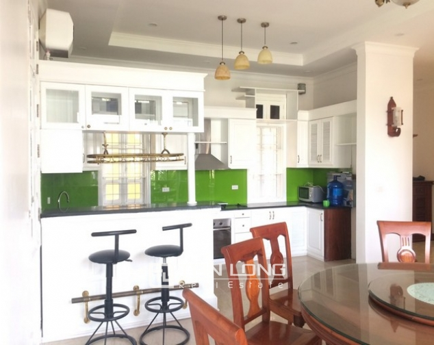 Luxurious and high standard fully funished Villa for rent in D4 block , Ciputra 5