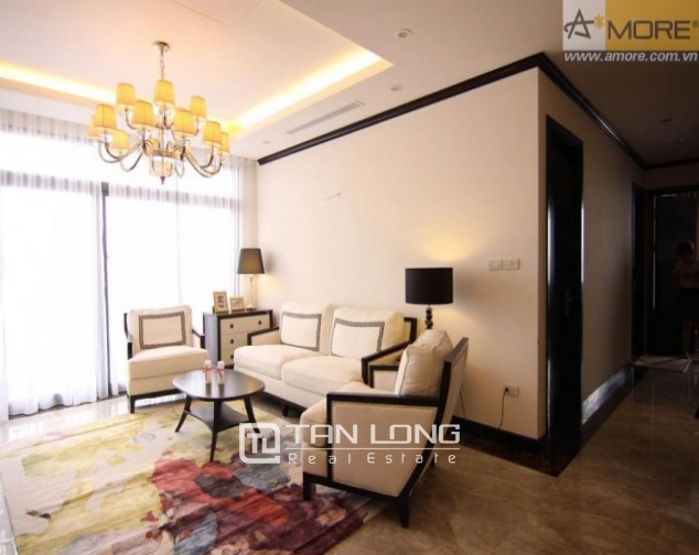 Luxurious apartment with large balcony in Platinum Residences, Nguyen Cong Hoan, Ba Dinh district for rent 1