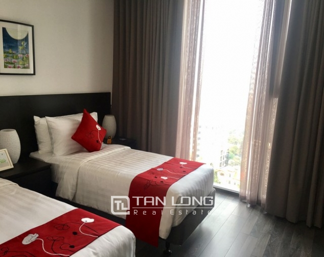 Luxurious serviced apartment for rent at Somerset West Point Hanoi Tay Ho area. 2