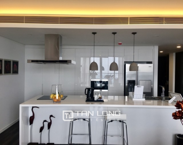 Luxurious serviced apartment for rent at Somerset West Point Hanoi Tay Ho area. 10