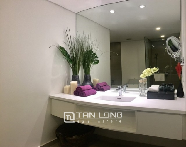 Luxurious serviced apartment for rent at Somerset West Point Hanoi Tay Ho area. 8