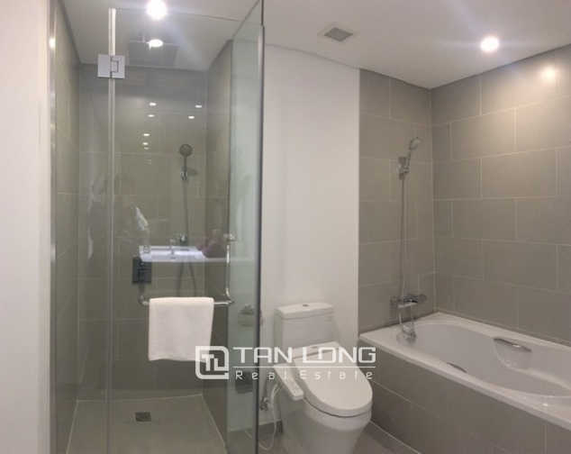 Luxurious serviced apartment for rent at Somerset West Point Hanoi Tay Ho area. 3