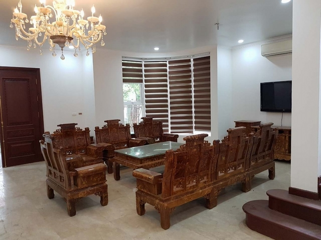 Luxurious villa for rent at Ciputra, Tay Ho distr., Hanoi
