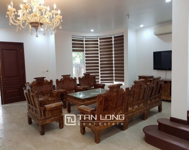Luxurious villa for rent at Ciputra, Tay Ho distr., Hanoi 1