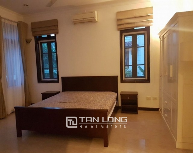 Luxurious villa for rent in C7 Ciputra, Tay Ho district for rent 10