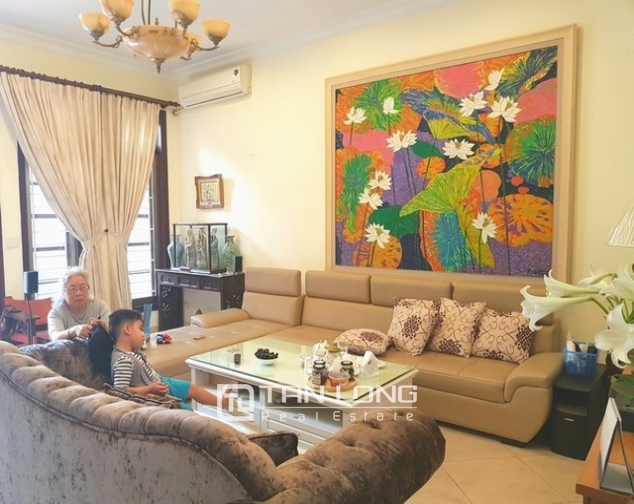 Luxurious villa for rent in D2 Zone – Ciputra Area, Ho Tay distr., Hanoi 2