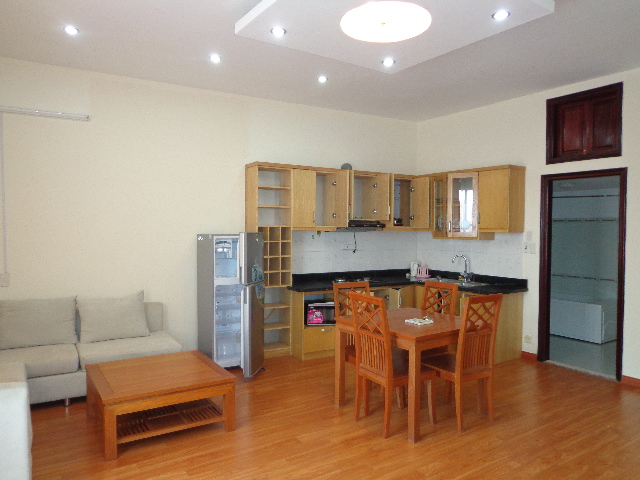 Luxury  serviced apartment rental in Xuan Dieu, Tay Ho district, Hanoi