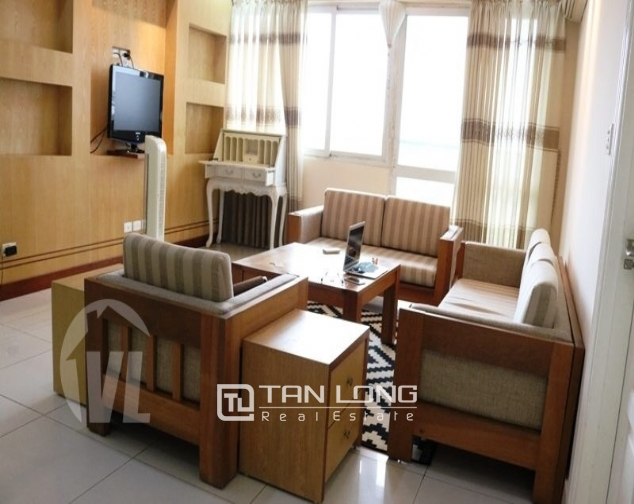 Luxury apartment super nice in the international Ciputra urban area, Tay Ho district, Hanoi for rent 1