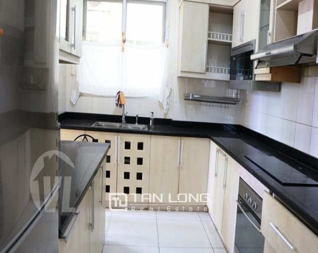 Luxury apartment super nice in the international Ciputra urban area, Tay Ho district, Hanoi for rent 7