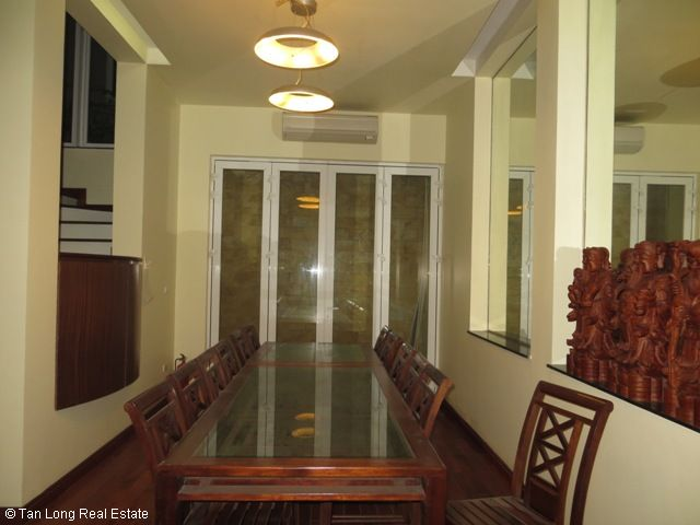 Luxury fully furnished 5 bedroom villa to rent on Tran Binh street, My Dinh, Nam Tu Liem district, Hanoi 8