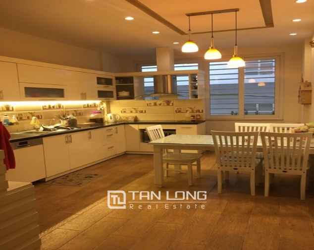 Luxury house in Lac Long Quan Street, Tay Ho district, Hanoi for rent 9