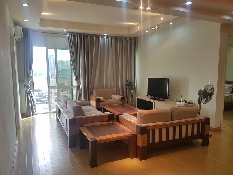 Majestic 3 bedroom apartment for rent in E5 building, ciputra urban area.