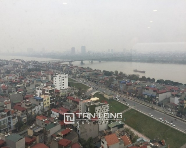 Majestic apartment  in Mipec Riverside, Long Bien district, Hanoi for rent 1