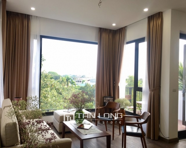 Majestic serviced apartment in Dang Thai Mai street, Tay Ho district, Hanoi for rent 1