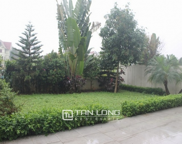 Majestic villa for rent in Ciputra, Tay Ho district for rent 7