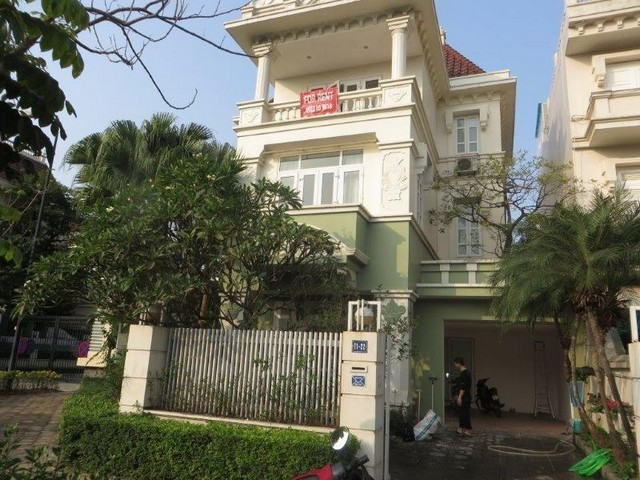 Majestic villa in T1 Ciputra, Tay Ho dist, Hanoi, for lease