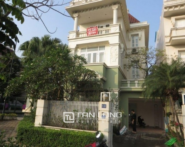 Majestic villa in T1 Ciputra, Tay Ho dist, Hanoi, for lease 1