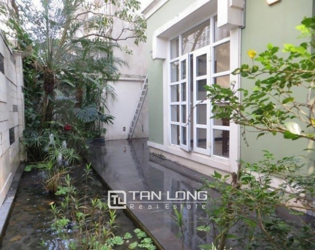 Majestic villa in T1 Ciputra, Tay Ho dist, Hanoi, for lease 3