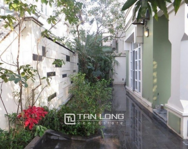 Majestic villa in T1 Ciputra, Tay Ho dist, Hanoi, for lease 5