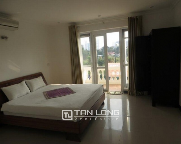 Majestic villa in T1 Ciputra, Tay Ho dist, Hanoi, for lease 7