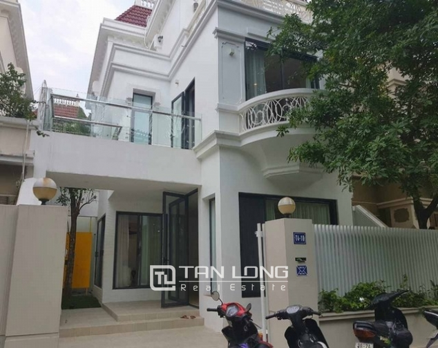Majestic villas in  T4, Ciputra, Tay Ho district Hanoi for rent 4
