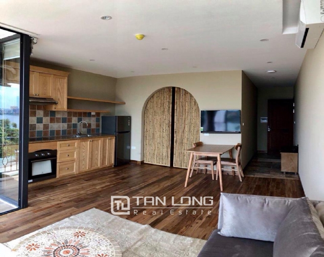 Modern and bright apartment for rent in Xom Chua, Dang Thai Mai street, Tay Ho distr 5
