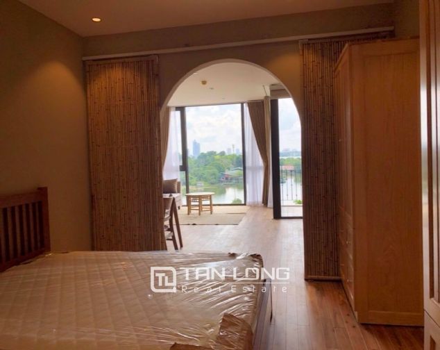 Modern and bright apartment for rent in Xom Chua, Dang Thai Mai street, Tay Ho distr 6