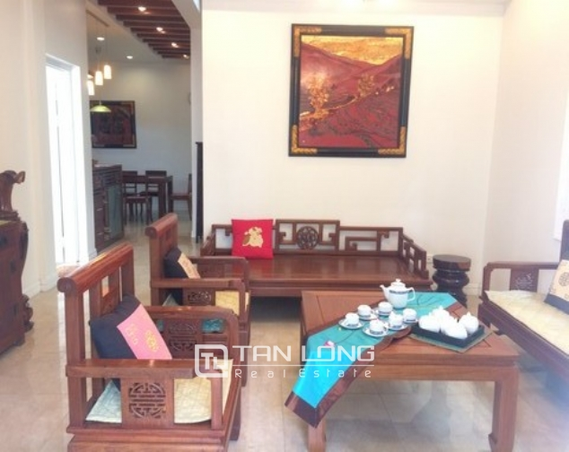 Modern and bright villa for rent with non furnished in T4, Ciputra 4