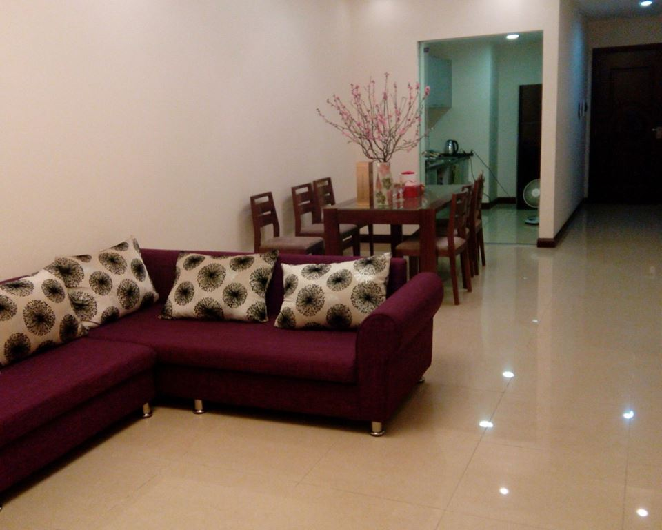 Modern apartment to rent in R2 Royal City Hanoi, 2 bedrooms
