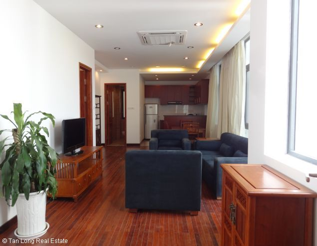 Modern duplex apartment with 2 bedrooms for rent in Dang Thai Mai, Tay Ho, Hanoi 2
