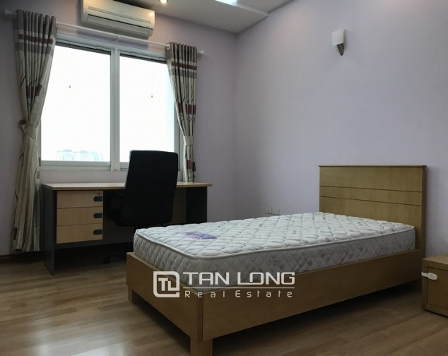 Modern full furnished 3 bedroom apartment for rent in E5 building, Ciputra 5
