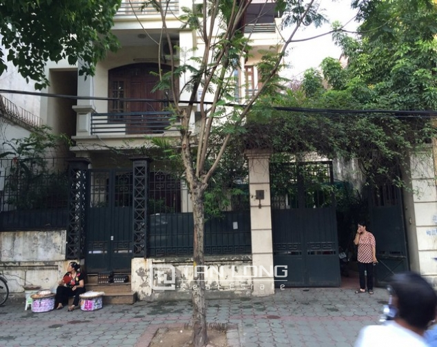 Modern villa for lease in Hang Chuoi, Hoan Kiem, Hanoi, available garage 1