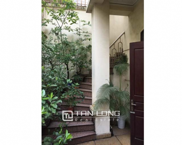 Modern villa for lease in Hang Chuoi, Hoan Kiem, Hanoi, available garage 3
