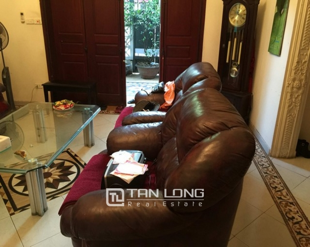 Modern villa for lease in Hang Chuoi, Hoan Kiem, Hanoi, available garage 4