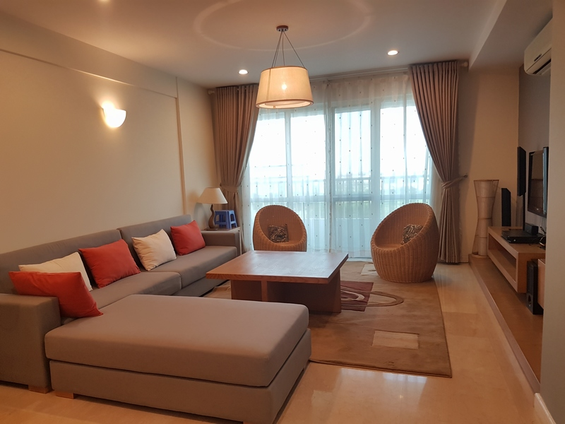 New and modern 3 bedroom apartment for rent in P building, Ciputra